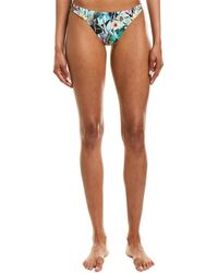 Nanette Lepore Swim Bloom Charmer Bikini Bottom - Blue
