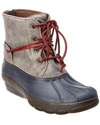 Sperry Top-Sider - Saltwater Wedge Boot - Lyst