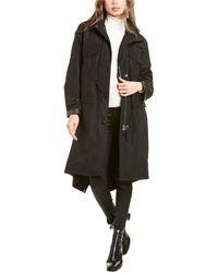 Burberry Detachable Hood Parka - Black