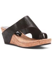 Donald J Pliner - Gyer Wedge Sandals - Lyst