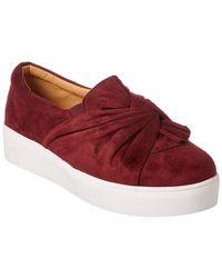 Catherine Malandrino Drapie Sneaker - Red