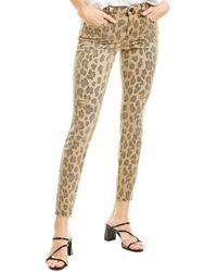 Blank NYC The Bond Jungle Cat Mid-rise Skinny Leg - Brown