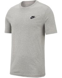 Nike Sportswear Club T-shirt - Grey