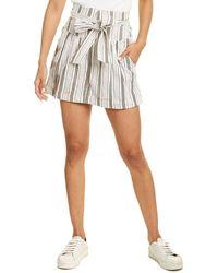 Rebecca Taylor Stripe Short - White
