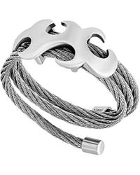 Charriol - Tatoo Stainless Steel Ring - Lyst