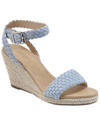 Catherine Malandrino Beesie Wedge Sandal - Blue