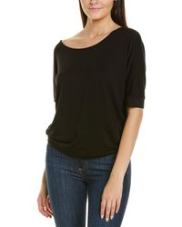 NIC+ZOE In The Moment T-shirt - Black
