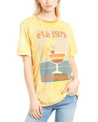 French Connection Retro Cocktail T-shirt - White