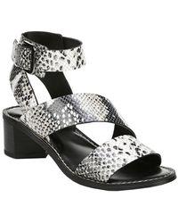 Franco Sarto Kaelyn Leather Sandal - Black