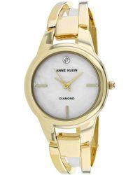 Anne Klein Classic Watch - Metallic