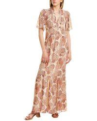 Ba&sh Hide Maxi Dress - Pink