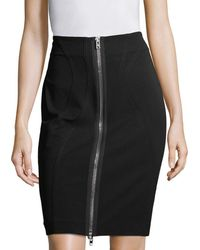 Givenchy Zipper Skirt - Black