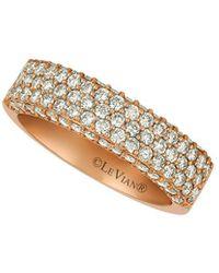 Le Vian Nude Collection 14k Rose Gold 1.19 Ct. Tw. Diamond Ring - Metallic