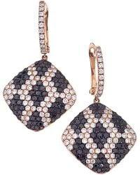 Sabrina Designs - 14k Rose Gold 4.29 Ct. Tw. Diamond Dangle Earrings - Lyst