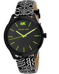 Michael Kors Runway Watch - Black