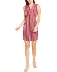 TMRW STUDIO Sleeveless Mini Dress - Red