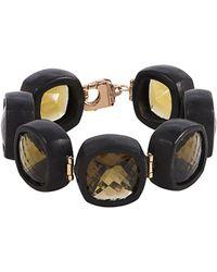 Roberto Coin - 18k Rose Gold Citrine Bracelet - Lyst