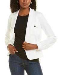 Donna Karan The Ceo Jacket - White