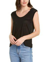 Vince Muscle T-shirt - Black