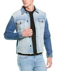 FRAME Denim L'homme Recon Jacket - Blue