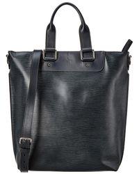 Louis Vuitton Damier Cobalt Canvas Cabas Jour - Black