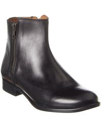 Frye Carly Leather Bootie - Black