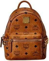 MCM Visetos Backpack - Brown
