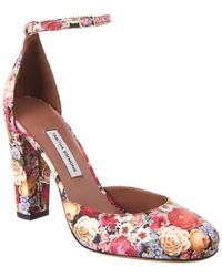 Tabitha Simmons Petra Leather Pump - Red