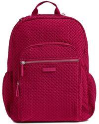 Vera Bradley Campus Backpack - Red