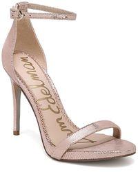 Sam Edelman Ariella Leather Sandal - Multicolour