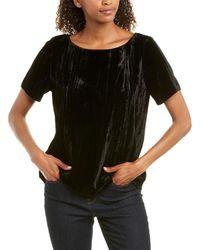 NYDJ Velvet T-shirt - Black