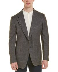 Tom Ford Wool-blend Blazer - Grey