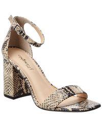 J.McLaughlin Esme Leather Sandals - White