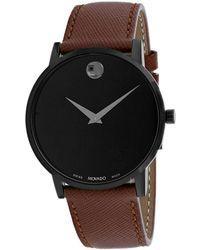 Movado Museum Classic Watch - Black