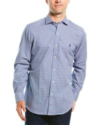 Polo Ralph Lauren Classic Fit Woven Shirt - Blue