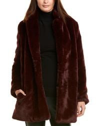 Astr The Label Cleo Coat - Red