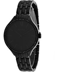 Fossil Suitor Watch - Black