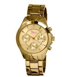 Boum Women's Baiser Watch - Metallic