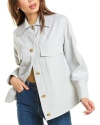 Vince Casual Jacket - White