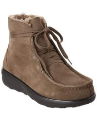 Fitflop - Loaff Nubuck Boot - Lyst