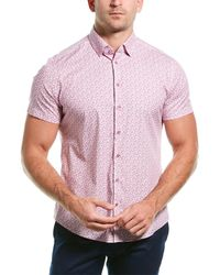 Stone Rose Button-down Shirt - Multicolor