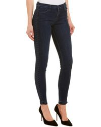 J Brand Braided Catonite Super Skinny Leg - Blue