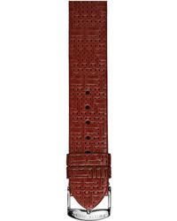 Philip Stein Leather Strap - Large - Multicolor