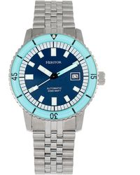 Heritor Edgard Watch - Blue