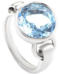 Poiray 18k 4.30 Ct. Tw. Topaz Ring - Multicolor