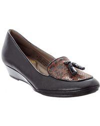 Söfft - Comfortiva Ashten Leather Flat - Lyst