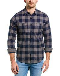 J.Crew Flannel Shirt - Blue