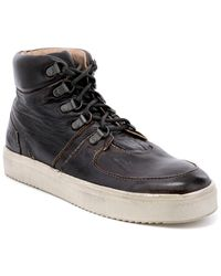 Bed Stu Honor High Top Leather Sneaker - Multicolor