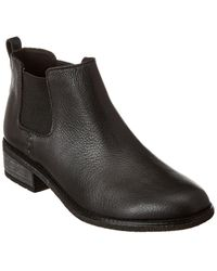 Sperry Top-Sider S Maya Chelsea Leather Boots - Black
