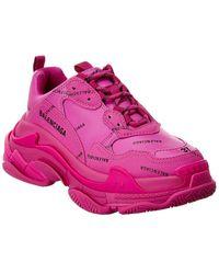 Balenciaga Triple S Sneaker - Pink
